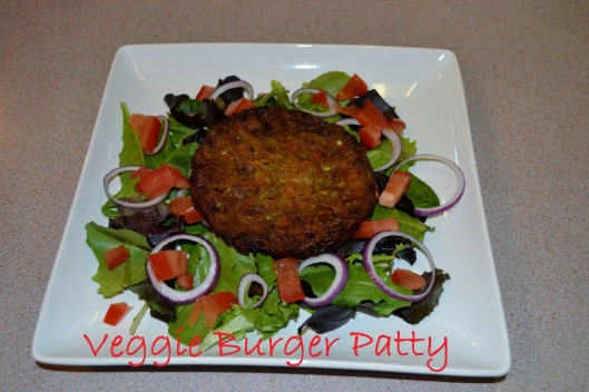Deconstructed Veggie Burger Salad Recipe. Clementinebean.wordpress.com